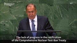 Lavrov Backs Iranian Deal, Swipes At Ukraine And Kosovo