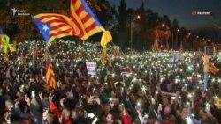 Каталонці масово вийшли на захист ув'язнених посадовців регіону (відео)