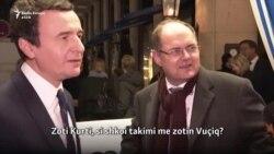 Kurti: Vuçiq ishte në presion pas asaj që deklarova