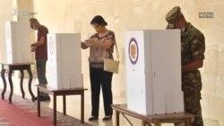 Ermənistanda seçkidə rüşvət iddiaları