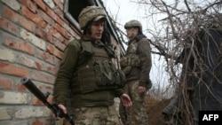 Украина ҳарбийлари.