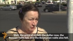 'Not Enough To Live On' As Belarusian Ruble Drops
