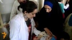 بابل: اغاثة طبية للنازحين