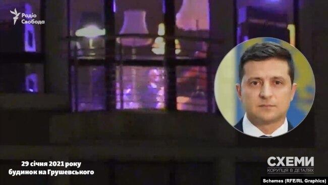 Журналісти помітили чоловіка, схожого на президента України Володимира Зеленського, який вітався з музикантами
