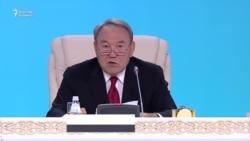 """Назарбаев """"кемшілік іздейтіндер"""" туралы айтты"""