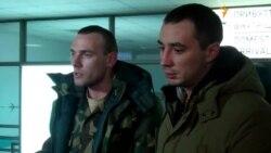 До Дніпропетровська після курсу реабілітації в Литві повернулись троє поранених бійців АТО