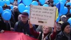 Marș unionist la Chișinău