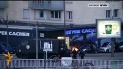 Захоп францускім спэцназам кашэрнай крамы ў Парыжы
