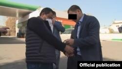 Райымбек Матраимов кармалган учур.