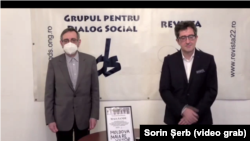 Andrei Cornea și Sorin Ioniță
