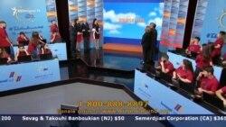 «Հայաստան» համահայկական հիմնադրամի հեռուստամարաթոնի ընթացքում հանգանակվել է շուրջ 10 մլն դոլար