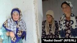 Махбуба Ганиева и ее дочери