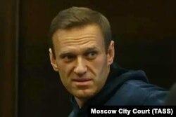 Алексей Навальный в Московском городском суде