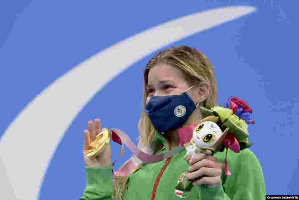 Paralimpia 2020 - Pap Bianka aranyérmes 100 méteres hátúszásban.