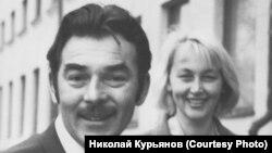 Юрий Мочанов и Светлана Федосеева. 1960-е гг.