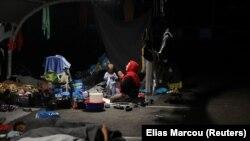Migrantët në Greqi.