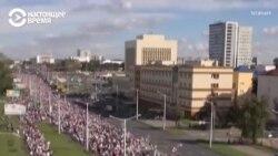 Марш героев в Беларуси. Как это было