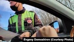 Задержание Евгения Доможирова