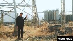 Скриншот с видеорасследования Ыдырыса Исакова.