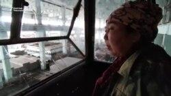 Оштогу заводдо кран башкарган айымдар