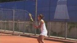 Звезда казахского тенниса