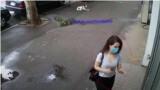 The Prosecutor-General's Office released video footage showing Tamar Bachaliashvili going to various pharmacies the day before her disappearance.