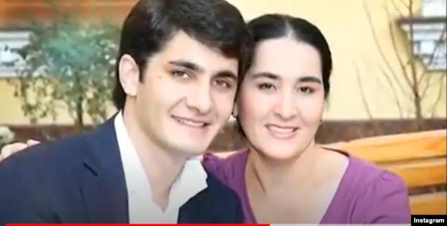 Ойбек Умаров с матерью Гузаль Умаровой. Единственная фотография Ойбека Умарова в открытых источниках взята с видеоролика, подготовленного по случаю его дня рождения.