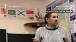 """Учитель запугивает красноярских школьников за надпись """"Путин - вор"""""""