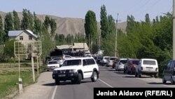 На границе Кыргызстана и Таджикистана. 29 апреля 2021 года.