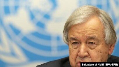Shefi i OKB-së Antonio Guterres.