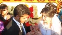 أربیل: زفاف لاجئین سوریین