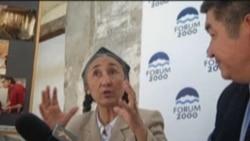 Rebiya Kadeer of the World Uyghur Congress