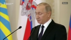 After Supermarket Blast, Putin Says Suspects Should Be 'Liquidated'