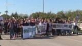 Građanski protest u Baru: 'Mi smo čempresi!'