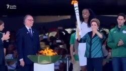 Olimpiya məşəli Braziliyaya çatdı