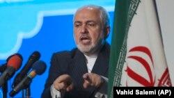 Ирандын тышкы иштер министри Мохаммад Жавад Зариф.