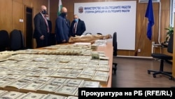 """Prosecutor-General Ivan Geshev commented that the """"impressive"""" sum might be one of the largest seizures of counterfeit money ever made in the country."""