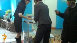 Suspected Ballot-Stuffing Near Almaty