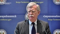 Bolton: After Elections, 'No Better Time' For Armenia To Resolve Nagorno-Karabakh Issue