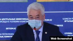 Министр индустрии и инфраструктурного развития Казахстана Бейбут Атамкулов.