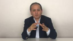 Оппозиционный политик Мухтар Аблязов. Кадр из видео.