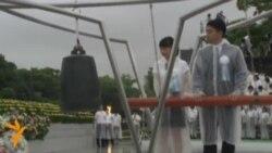 Акция памяти жертв Хиросимы