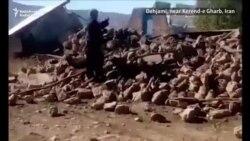 Scene de devastare după cutremurul de la granița dintre Iran și Irak