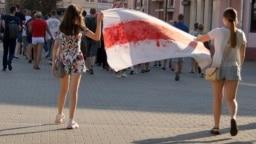 На акции протеста в Могилеве, архивное фото