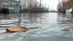 В Петропавловске подтоплено больше сотни домов