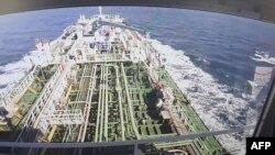 تانکر توقیفشده کره جنوبی از سوی سپاه پاسداران ایران