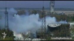 Donetsk aeroportunda ağır döyüşlər