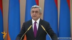 Սերժ Սարգսյան. Նման հզոր բանակ մենք վաղուց չենք ունեցել