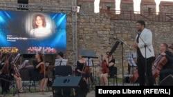 Adriano Marian, conducătorul și dirijorul Chisinau Youth Orchestra