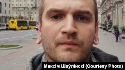 Максім Шаўлінскі пасьля вызваленьня